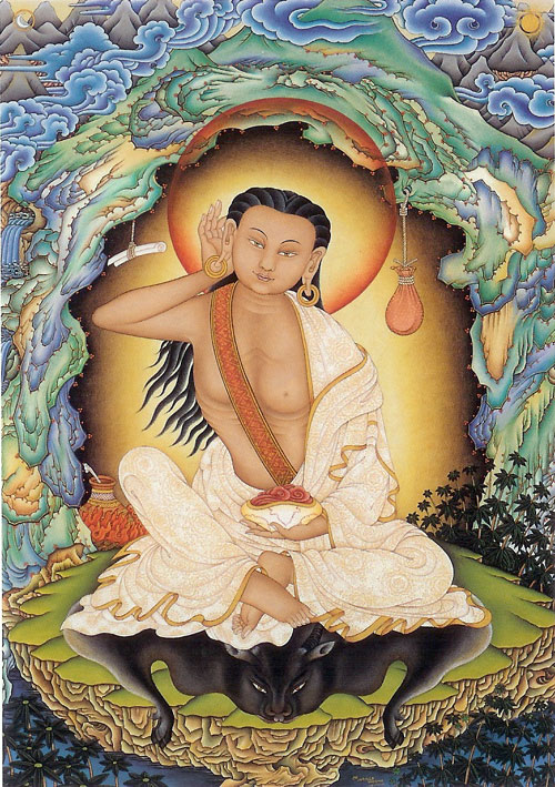 Milarepa-by-Robert-Beer